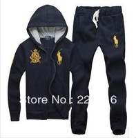 2013 new autumn men hoodies jacket and pants