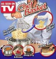 2013 new chef basket as seen as on tv fry basket magic basket flexible basket free shipping T1030