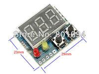 "10 Pcs/Lot DC-DC 0-20V 0.36"" Digital Voltmeter Upper And Lower Limit Alarm Red LED Display Meter free shinpping"