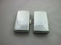 Luxury Embossed Cigarette Case Cigarette Case, metal cigarette case by free express for 20 pcs cigarette case.