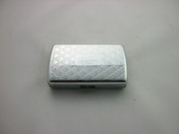 Luxury Embossed Cigarette Case Cigarette Case, metal cigarette case by free express for 10 pcs cigarette case.