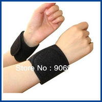 Best selling ! Multifunction self-heating magnetic wrist Therapy Wrist Protection 2pair/lot Free shipping