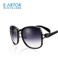 Eartor big box sunglasses female 2013 sunscreen anti-uv sunglasses fashion glasses
