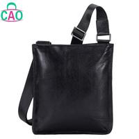 The new 2013 100% head layer cowhide briefcase business casual shoulder bag leather men messenger bag handbag men's bags D10162