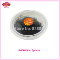 C Curl 10mm in 0.15mm Roughness White Flat Bottled Eyelash
