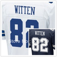 Free Shipping - Elite Stitched Dallas Football Club #82 Jason Witten American Football Jerseys, Accept Dropping Shipping.