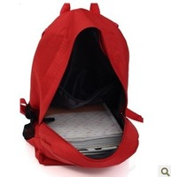 Solid color school bag fashion backpack 2014