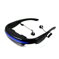 Portable Video Glasses display glasses cinema 52 inches virtual screen Support video Music Picture e-book Built in 4GB
