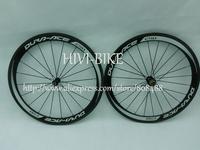 New version,C50 full carbon bicycle wheels 50mm tubular road cycling bike wheelset ,Spokes+Novatec Hub+quick release