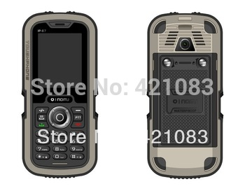 Three anti-phone Nomu original phone LM129 Long standby time+Walkie-talkie function waterproof shockproof mobile