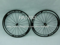 New version,C50 full carbon bicycle wheels 50mm clincher road cycling bike wheelset ,Spokes+Novatec Hub+quick release