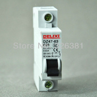 DZ47-63 C501P 50A AC230/400V Household mini Circuit Breaker air switch Made in China of the breaker  DELIXI