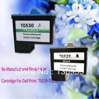 Eabay Hot Sales!!  Free Shipping High Quality Reman Ink Cartridge for Dell T0529 T0530 use for Dell printers 720 All-In-One A920