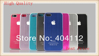 For iphone 5 Brushed Aluminum Case, Brushed Metal Back Case for iphone5 5g,metal cover