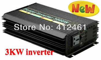 6000W Peak 3000W Modified Sine Wave Power Inverter 12V DC Input 220V-240V AC Output 50Hz,Converter