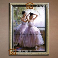Fashion paintings entranceway decorative box art painting hand painting oil painting ballet girl blw022