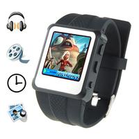 4GB 1.5 inch screen MP4 Player watch+ Ebook reader+video player + FM Radio