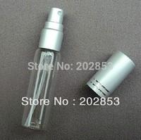 Free Shipping 50pcs/lot 10ml Perfume Sprayer ,Perfume Atomizer Glass Empty Perfume Bottle ,High Quality Perfume Spray