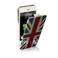 Free shipping high quality 1450mah external battery charger case for iphone 4