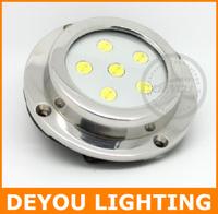 Free shipping  High quality 6W LED Surface Mount Marine Light  IP68 Underwater  Marine Yacht Boat Transom Light