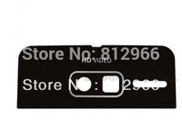 For Motorola Razr i XT890 back Camera plastic Lens, black or white color for choice,HK  free shipping