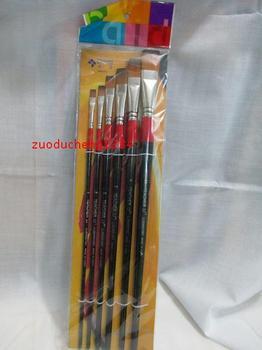 David advanced flat head nylon gouache pen acrylic paint brush oil painting pen drawing pen set