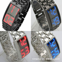 Free shipping - 1pcs-led lava watch led mirror fashion  gift  wholesale  creative