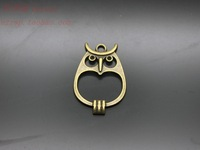 New design Vintage Style Owl pendant charm Antique Bronze alloy Owl pendant charm Jewelry Findings & Components Free Shipping