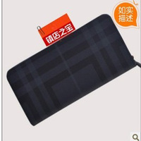 Wallet fashion male bag man b women's long design wallet luxury wallet