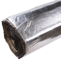 FreeShipping materials adhesive aluminum foil sound insulation cotton thermal insulation cotton sound-absorbing cotton
