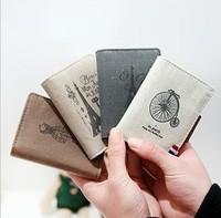 2013 new Paris memory card bag nostalgic retro fabric ribbon card bag canvas bag card set of creative gift