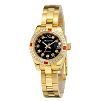 Monyoung fully-automatic mechanical watch gold watch diamond ladies watch