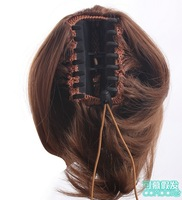 8'', 5 colors, Bun Hair Ponytails with clip, Synthetic Donut Roller Hairpieces, Hair Extension, 1pcs