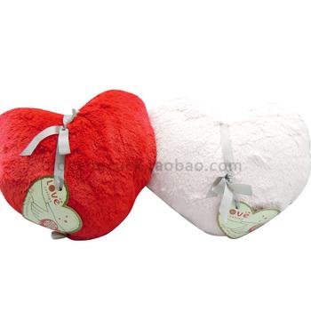 Gift semk series love heart pillow hand pillow