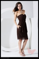 New style custom-made A-line short strapless prom dress wholesale and retail free shipping