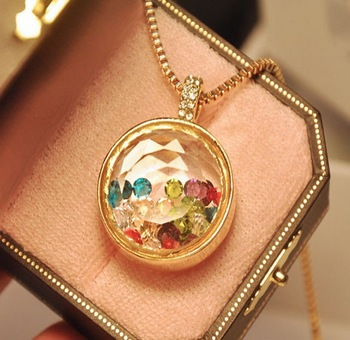 Min Order 5$ Free Shipping 2015 Newest Vintage Style Perfume Bottle Fashion Necklace Good Quality Wholesale Hot