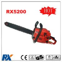 2013 new brand 0.9KW 2-stroke 5200 chainsaw 52CC
