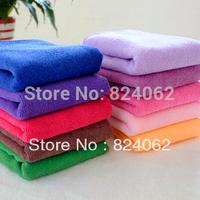 "200pcs/lot Class Grade Great Water Absorption Thick Super Fine Microfiber Towel,Face towels,35*75cm(14""*30"")"