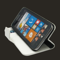 Leather Case Cover + Film LCD for SAMSUNG ATIV S GT-i8750 T899 i