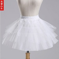 3 Layer Short Skirt Underskirt Dress Petticoat