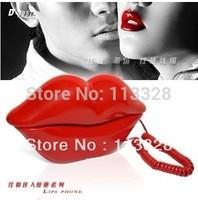 Flaming Lips Sexy with Big Mmouth Telephone Fixed Telephone Landline Telefone  Fashion  Gif tfree shipping of
