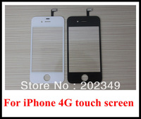 10pcs/lot Replacement Outer Glass For iPhone 4 4G Touch Digitizer Front Glass Screen Repair