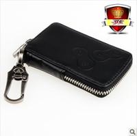 Wholesale+ High quality+ Free shipping for Renault Fluence key case Renault  car genuine leather key wallet   Fluence key holder