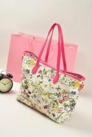 2013 l fashion new arrival print handbag shoulder bag vintage bag big bag