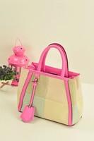 Women's handbag brief women's plaid handbag shoulder bag handbag