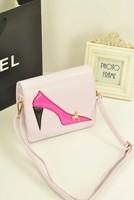 Women's handbag fashion high-heeled shoes bag shoulder bag messenger bag