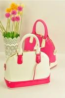 Women's handbag fashion color block decoration shell brief bag shoulder bag handbag