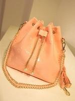 High quality 2013 women's handbag shoulder bag messenger bag ice cream sugar jelly color bucket bag