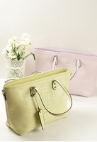 2013 women's crocodile pattern handbag fashion women's bags one shoulder cross-body handbag
