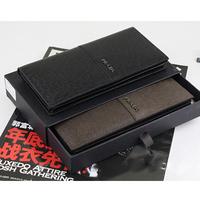 P cross leather male wallet genuine leather long wallet design wallet